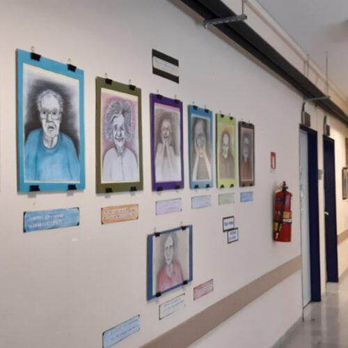 Δύο μόνιμες εκθέσεις ζωγραφικής στο Κέντρο Υγείας Λιτοχώρου