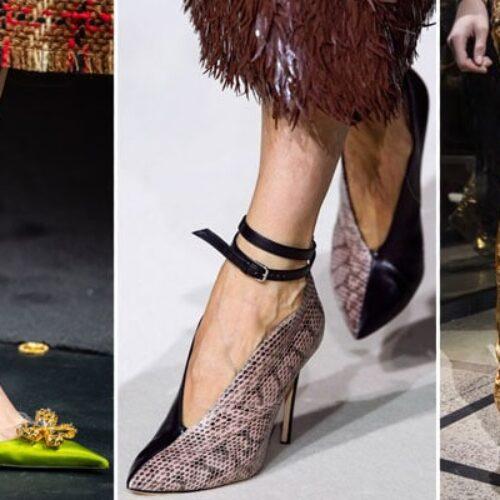 Μόδα: Παπούτσια Φθινόπωρο / Χειμώνας 2019 – 2020 - Οι κορυφαίες τάσεις της σεζόν