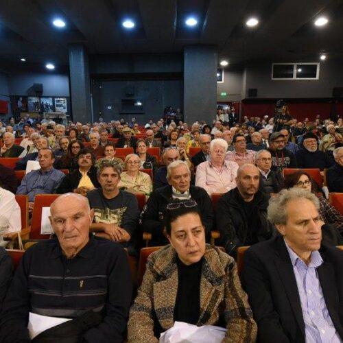 Ο χαιρετισμός του Προέδρου του ΣΦΕΑ, Σπύρου Χαλβατζή, στο 15ο Συνέδριο ΠΕΑΕΑ-ΔΣΕ