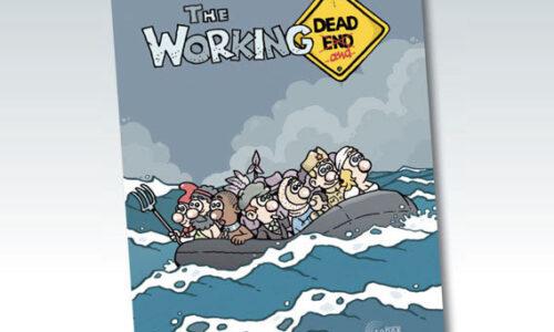 """Θεσσαλονίκη: """"The Working Dead... and"""". Παρουσίαση του νέου κόμικ του Πάνου Ζάχαρη, Σάββατο 23 Νοεμβρίου"""