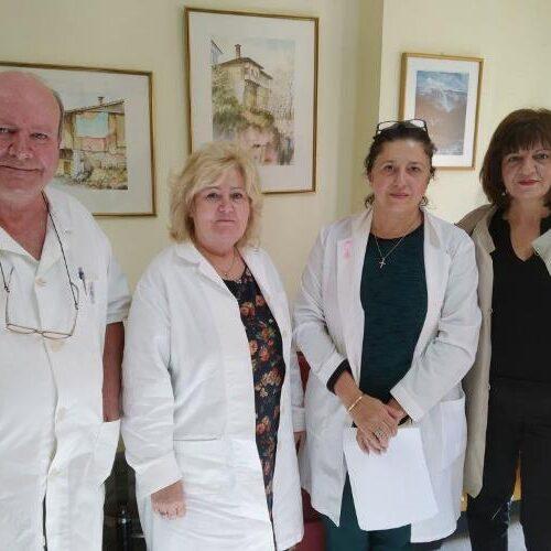 Η Φρ. Καρασαρλίδου στο Κέντρο Υγείας Βέροιας: Επί τάπητος τα θέματα πρωτοβάθμιας υγείας