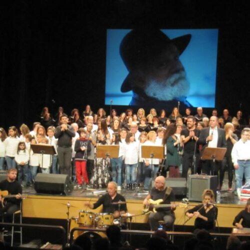 """Τα Παιδιά του ΚΕΜΑΕΔ στην εκδήλωσή τους για τον Μανώλη Ρασούλη έκαναν πράξη το """"Δεν είμαστε ίδιοι, είμαστε ίσοι"""""""