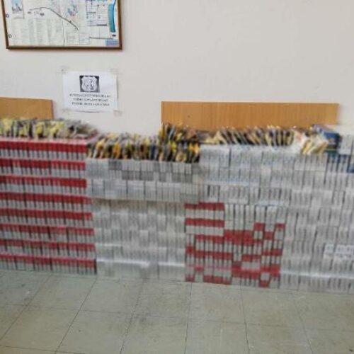Συνελήφθη 36χρονος για λαθρεμπόριο καπνικών προϊόντων - Κατασχέθηκαν πάνω από 4.000 πακέτα τσιγάρων