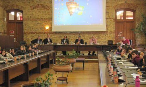 3ο Δημοτικό Συμβούλιο Παίδων Δήμου Βέροιας, Τετάρτη 11 Δεκεμβρίου 2019