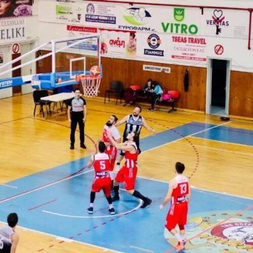 """Μπάσκετ: Ήττα - """"πισωγύρισμα"""" εντός έδρας για τους Αετούς Βέροιας (61-72)"""