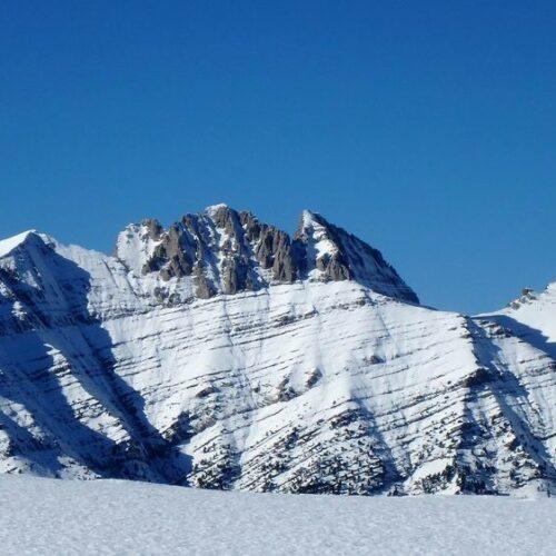 """Όλυμπος: Από τον Αγ. Ιωάννη στο χιονισμένο Λιβαδάκι και στην κορυφή """"Πάγος"""""""