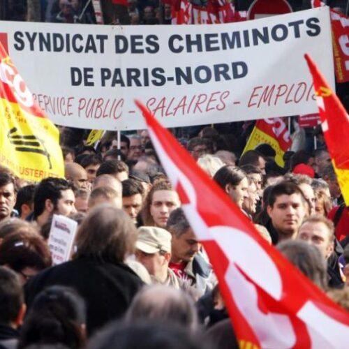 Σε απεργιακό κλοιό εδώ και 24 μέρες παραμένει η Γαλλία (video)