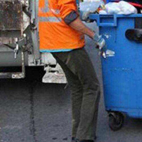 Με προσωπικό ασφαλείας η Υπηρεσία Καθαριότητας του Δήμου Βέροιας την Πρωτοχρονιά