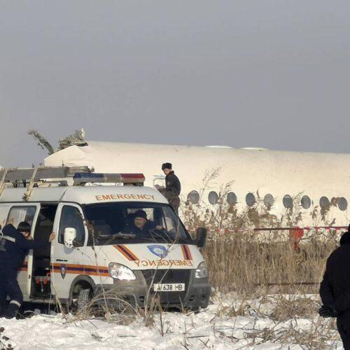 Αεροπορική τραγωδία στο Καζακστάν: Συντριβή αεροσκάφους με 100 επιβάτες