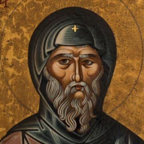 Ο Άγιος Αντώνιος δια χειρός Συμεών