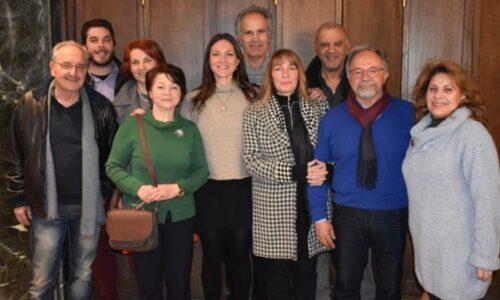 Πρόσκληση γιαδιενέργεια εκλογών στον Όμιλο Φιλών Θεάτρου και Τεχνών Βέροιας και κοπή πίτας