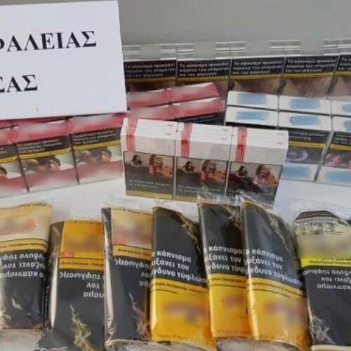 Συνελήφθη 55χρονος στη Νάουσα για λαθραίο καπνό και τσιγάρα