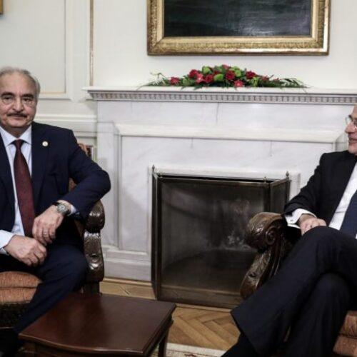 """Δένδιας: """"Η Ελλάδα έτοιμη να συμμετάσχει σε δύναμη «επιβολής της ανακωχής» στη Λιβύη"""""""