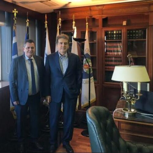 Συναντήσεις με υπουργούς και στελέχη από την Ημαθία είχε στην Αθήνα ο Κώστας Καλαϊτζίδης