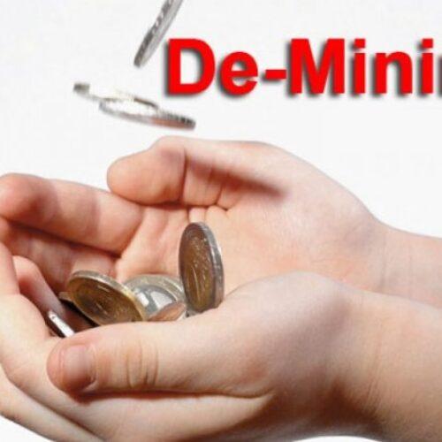 Δήλωση - απάντηση της Φρ. Καρασαρλίδου προς τον Γ. Καρασμάνη για το de minimis