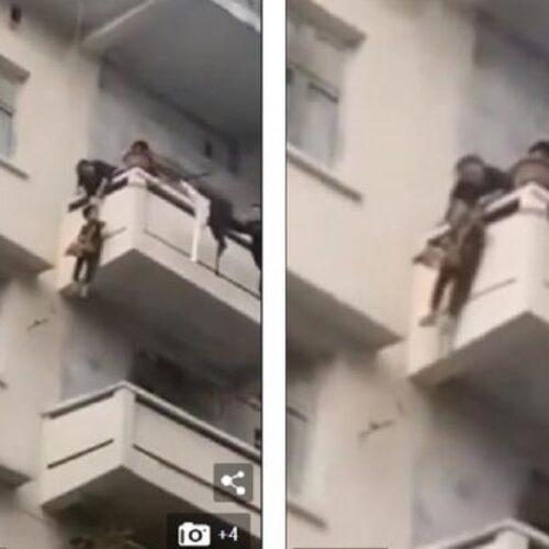 Γιαγιά κρέμασε στο μπαλκόνι 5ου ορόφου τον 7χρονο εγγονό της για να σώσει τη γάτα της