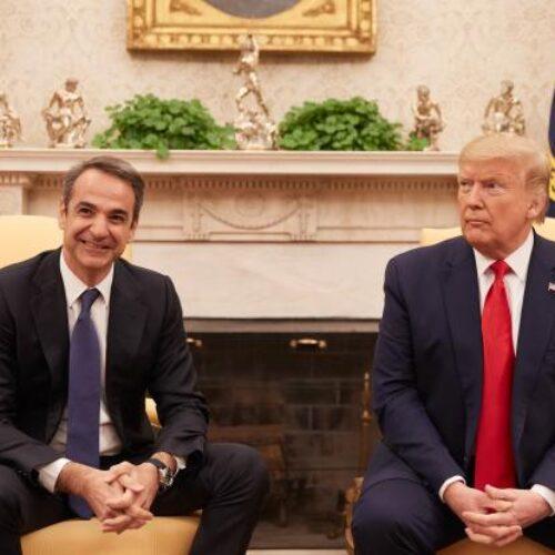"""""""Φιάσκο Μητσοτάκη στον Λευκό Οίκο"""" γράφει ο Δημήτρης Μηλάκας"""