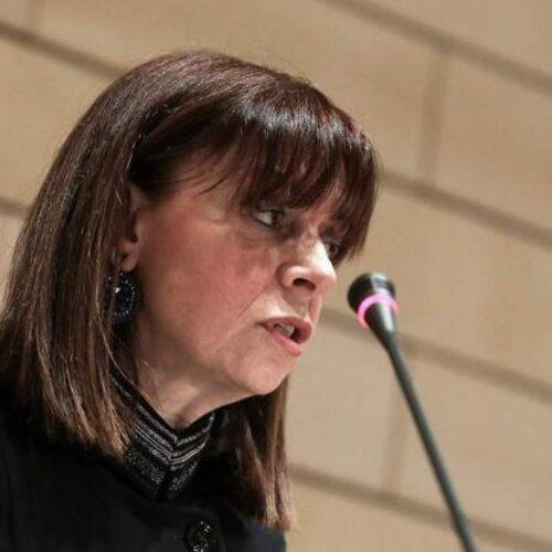 Δήλωση Αικ. Σακελλαροπούλου: Στο πρόσωπό μου τιμάται η Δικαιοσύνη και η σύγχρονη Ελληνίδα