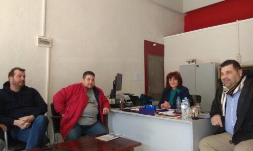 Συνάντηση της Φρ. Καρασαρλίδου με τευτλοπαραγωγούς και εργαζόμενους για τις δυσοίωνες εξελίξεις στην ΕΒΖ