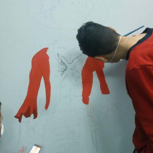 Καλλιτέχνες του Graffiti επισκέφτηκαν το Ενιαίο Ειδικό Επαγγελματικό Γυμνάσιο – Λύκειο Βέροιας