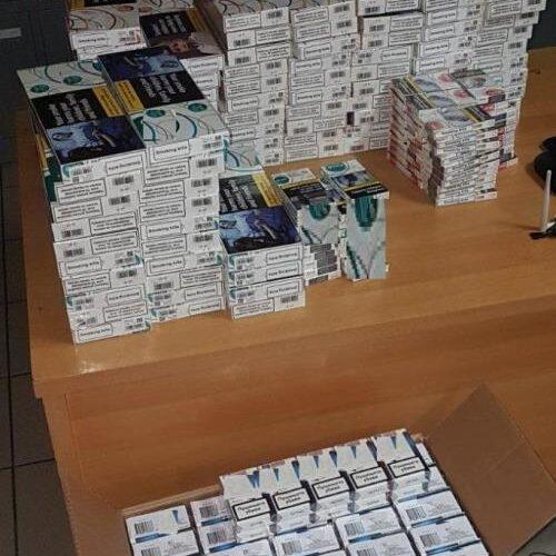 Συνελήφθη 44χρονος να έχει εισάγει 1.500 λαθραία πακέτα τσιγάρων
