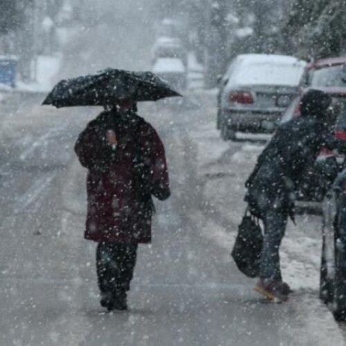 Ραγδαία επιδείνωση του Καιρού με βροχές, χιονοπτώσεις, θυελλώδεις ανέμους και χαμηλές θερμοκρασίες