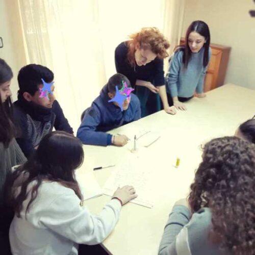 Το Κέντρο Συμβουλευτικής Υποστήριξης Γυναικών Δήμου Βέροιας  στο 1ο ΕΠΑΛ