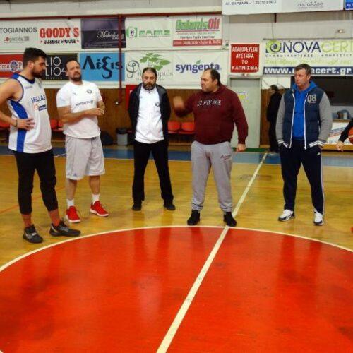 Επαναρχίζει το πρωτάθλημα της Γ' Εθνικής μπάσκετ μετά τη διακοπή μίας εβδομάδας