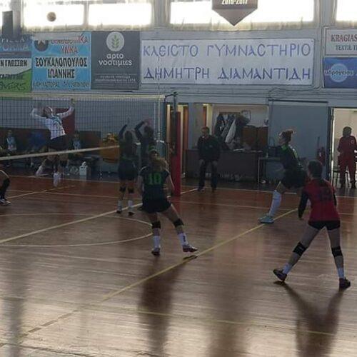 Βόλεϊ - Γυναίκες:  Καστοριά - ΓΑΣ Αλεξάνδρεια (1-3)