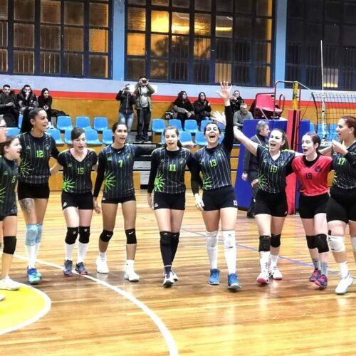 """Πρωτάθλημα Β' Εθνικής Γυναικώνστο Βόλεϊ: Πιερικός - ΓΑΣ """"Αλεξάνδρεια"""" (1-3)"""