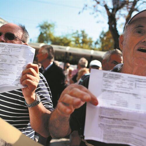 """Νομοθετική ρύθμιση για τα χιλιάδες """"ραβασάκια"""" της εφορίας στους συνταξιούχους"""