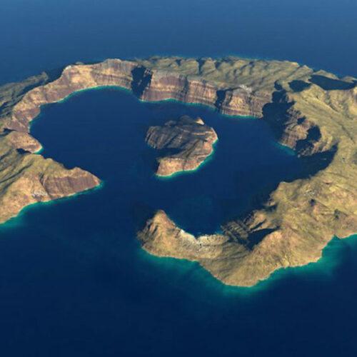 """""""Ξυπνάει"""" το ηφαίστειο της Σαντορίνης - Έτοιμο σχέδιο αντιμετώπισης των συνεπειών"""