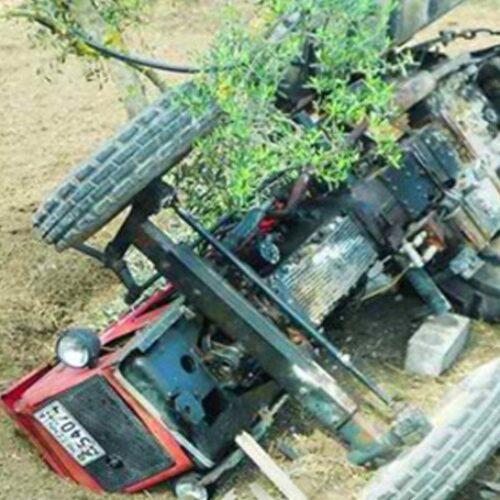 Νεκρός 40χρονος αγρότης από ανατροπή τρακτέρ