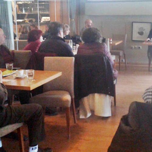 Πραγματοποιήθηκε εκδήλωση της Κ.Ο. Ημαθίας του Μ-Λ ΚΚΕ στη Βέροια