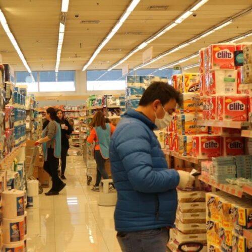 Βέροια – Κορωνοϊός:  Ομαλοποιείται η κατάσταση στα super market