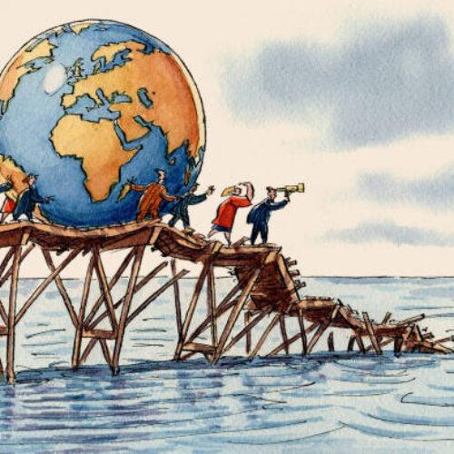 """""""Ο κορονοϊός αποδομεί την παγκοσμιοποίηση"""" γράφει ο Ηλίας Γιαννακόπουλος"""