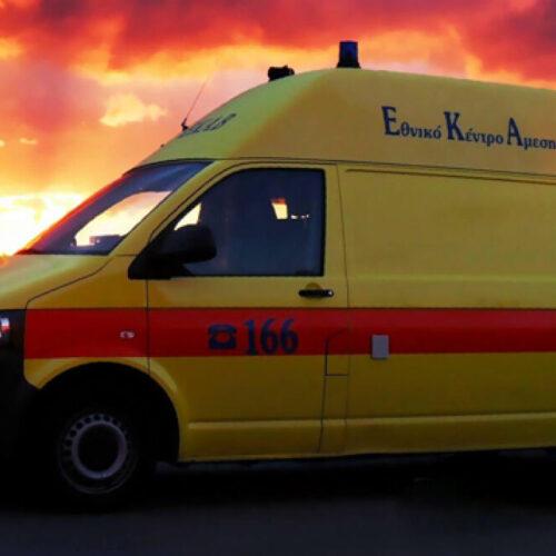 Τροχαίο:  Θανάσιμος τραυματισμός γυναίκας - Έχασε τον έλεγχο του αυτοκινήτου