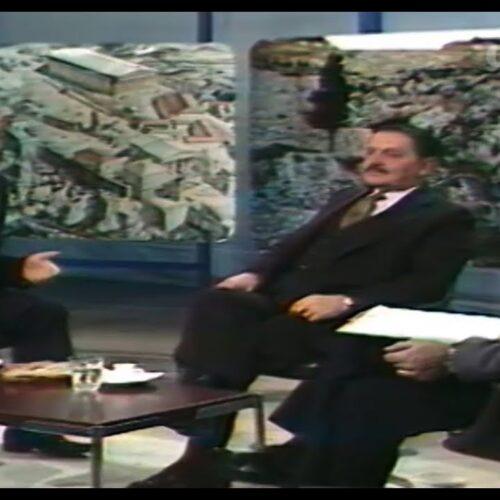 Μανώλης Γλέζος και Απόστολος Σάντας, μαζί στην ΕΡΤ, μιλούν για το κατέβασμα της ναζιστικής σημαίας (video)