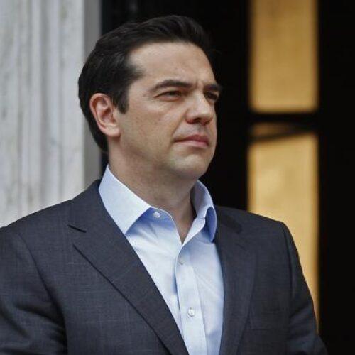 Τηλεφωνική ενημέρωση από τον Πρωθυπουργό έλαβε ο Αλέξης  Τσίπρας για την απαγόρευση κυκλοφορίας