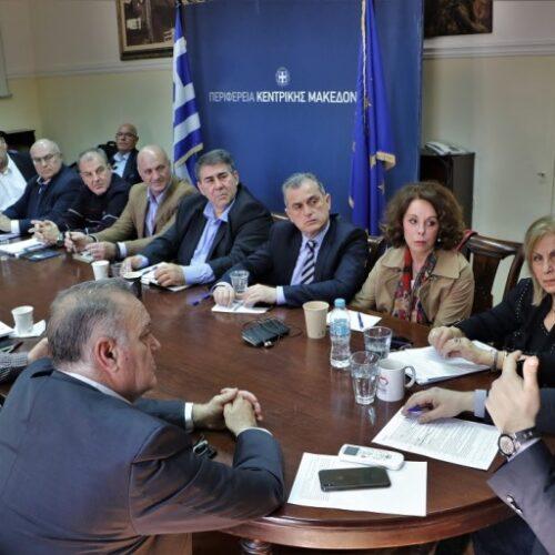 Μέτρα για την αντιμετώπιση της πανδημίας του κορονοϊού ανακοίνωσε ο Περιφερειάρχης Κ. Μακεδονίας Απ. Τζιτζικώστας