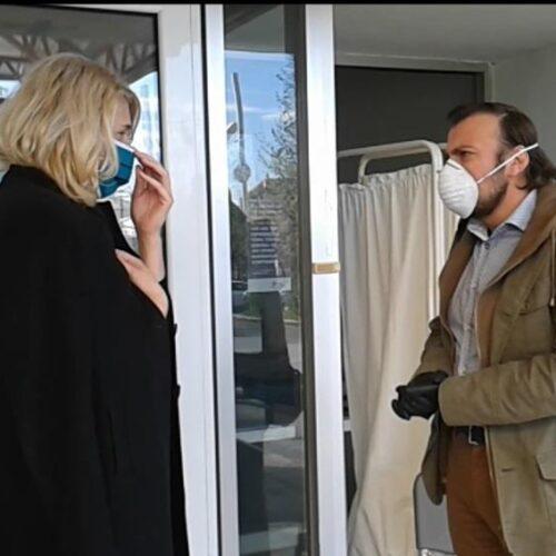 Παρέμβαση στο Κέντρο Υγείας Αλεξάνδρειας στο πλαίσιο της Μέρας πανελλαδικής δράσης για την υγεία