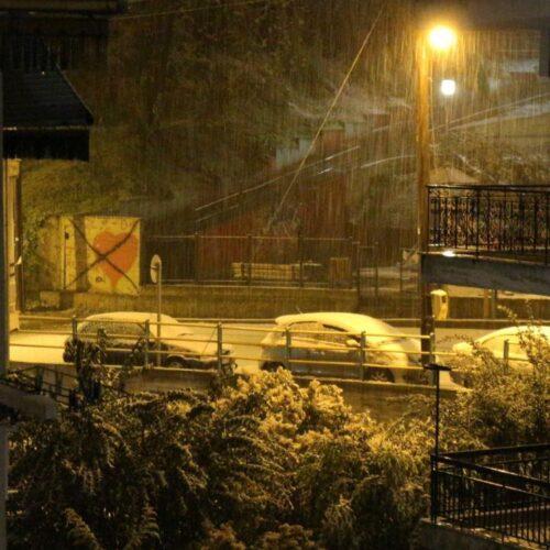 Πρωταπριλιάτικο… χιόνι στη Βέροια!