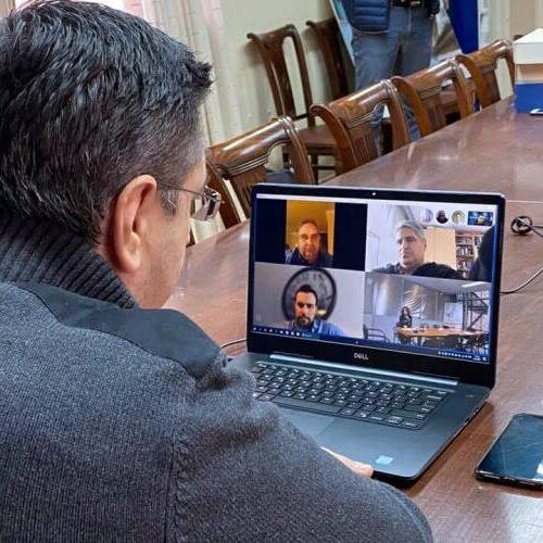 Τηλεδιάσκεψη για την αντιμετώπιση των επιπτώσεων της πανδημίας στον κλάδο του τουρισμού στην Κ. Μακεδονία.