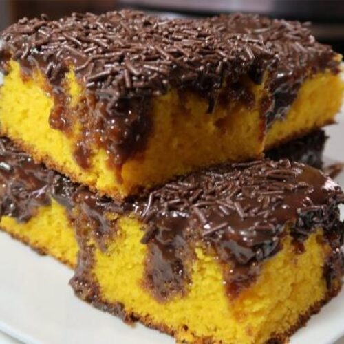 Κέικ Βραζιλίας με καρότο