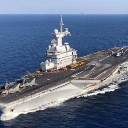 Σοκαρισμένη η Γαλλία: Θετικοί στον ιό 668 ναύτες στο αεροπλανοφόρο Charles de Gaulle