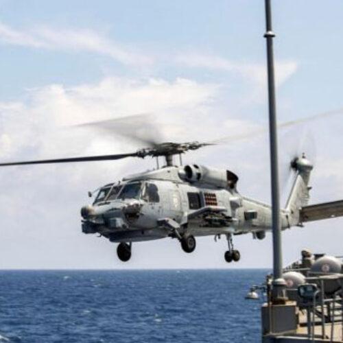 Καναδικό ελικόπτερο κατέπεσε στο Ιόνιο σε ΝΑΤΟϊκή άσκηση - Στις έρευνες συνδράμει ελικόπτερο του ΠΝ