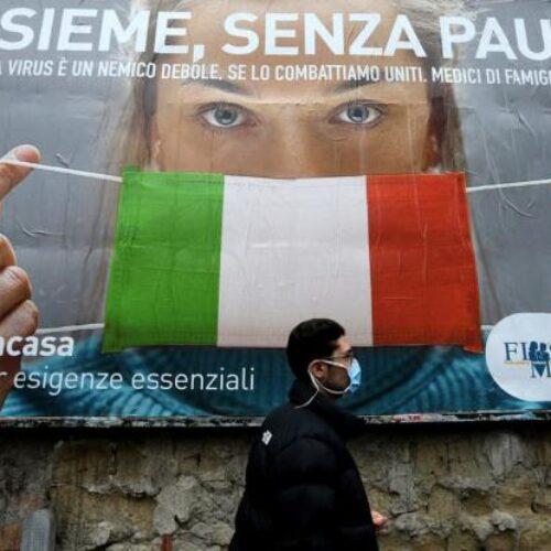 """Βελτιώνεται η κατάσταση στην Ιταλία – """"Χαμηλό"""" μήνα στον αριθμό των νεκρών"""