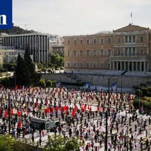 Τα διεθνή ΜΜΕ για την πρωτομαγιάτικη συγκέντρωση του ΠΑΜΕ στο Σύνταγμα