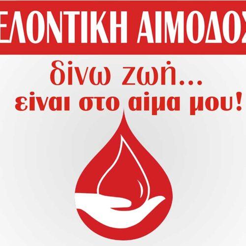 """Εθελοντική Αιμοδοσία για την Γενοκτονία από  τον Πολιτιστικό και Μορφωτικό Σύλλογο Βεργίνας """"Αιγές"""""""