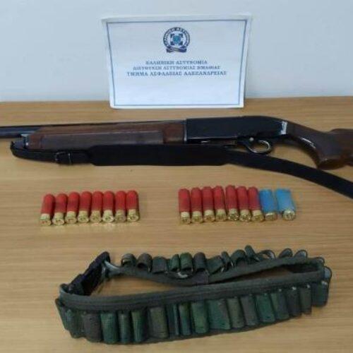 Συνελήφθη στην Αλεξάνδρεια για άσκοπους πυροβολισμούς και σωματική βλάβη